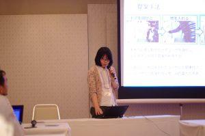 安定した発表の石田さん