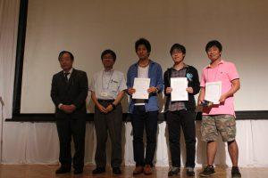 最優秀プレゼンテーション賞をM1倉橋が受賞