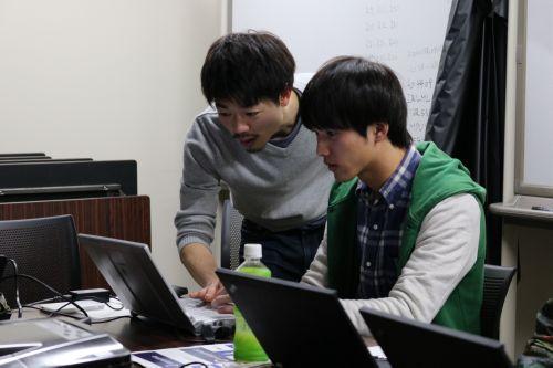 松井君によるプログラミング指導