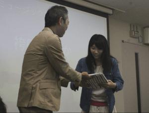 欲しいと思わせるシステムを実装した袴田さん ソニーミュージック賞受賞