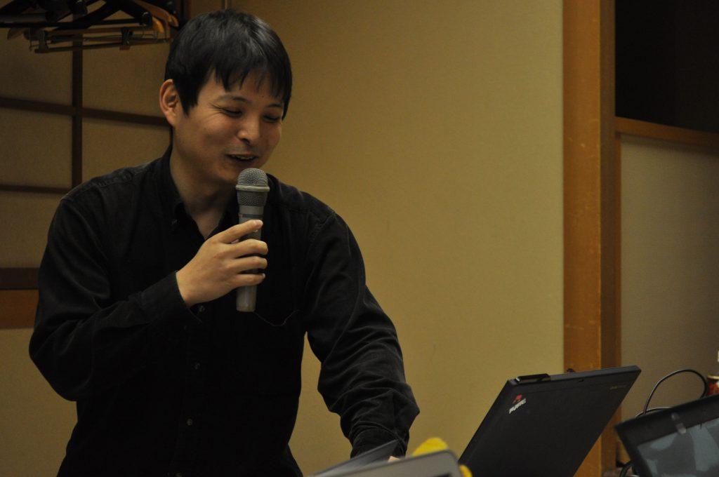 講師の柳沢さん