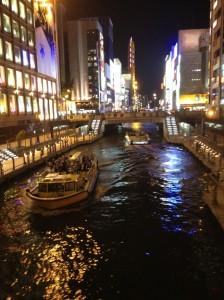 夜の水上バス